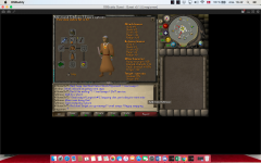 Pictures of my F2P wilderness gear setup + inventory: